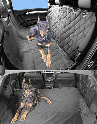 Car Seat Protector Cover for Dogs Pet Hammock Water Resistant Rear Waterproof UK
