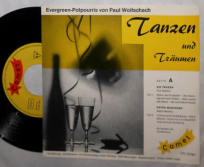 "Die Dominos Tanzen & Träumen Evergreen-Potpourris Von Paul Woitschach 7 "" Single"