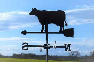 Standard Cow Metal Weathervane (Vertical fixing bracket)