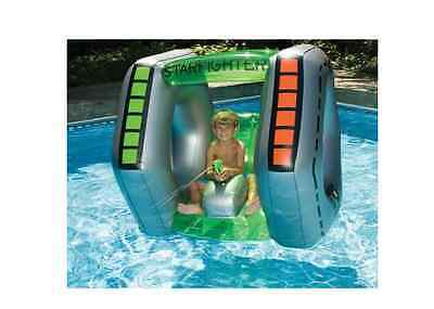 New Inflatable Starfighter Pool Toy, Ride, Float, Swimming Water Toys Swimline