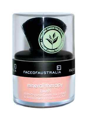 FACE OF AUSTRALIA - Coral Delight - Mineral Therapy - Loose Powder Blush,Blusher