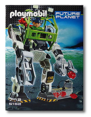 "Playmobil® Future Planet 5152 ""E-Rangers Collectobot"" NEU & OVP!"
