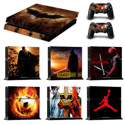 Michael Jordan Protective Decal Skin Sticker For PS4 Console Controller Covers