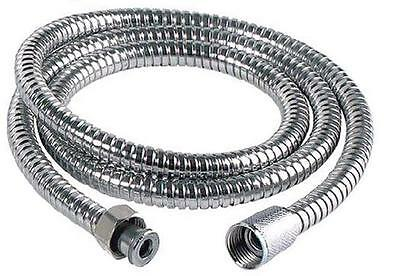 Shower Bath Hose Flexible Stainless Steel Replacement Pipe New 2.5M