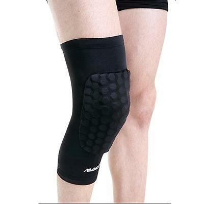 Padded Knee/Elbow Sleeve Brace Cap Support Work Pad Guard Sports Protector Black