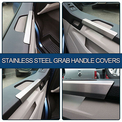 Stainless Steel Grab Handle Covers (SET OF 2) For VW T6 Transporter
