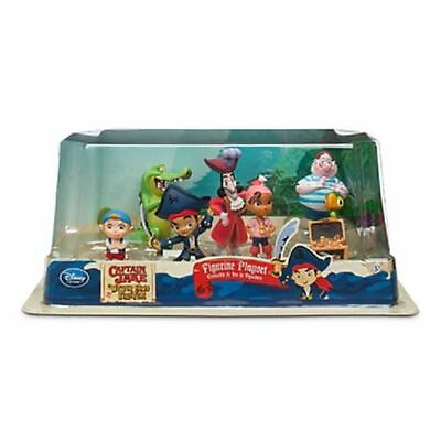 Disney peter Pan JAKE AND THE NEVERLAND PIRATES Figure Figurine PLAY SET - NEW