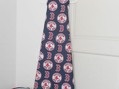 A Great Markdown 100% Cotton Navy Blue Boston Red Sox,adult Apron W/ Pocket