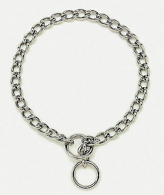 """Heavy duty dog choke/check chain collar Fits med.-large dogs up to 20"""" 50cm neck"""