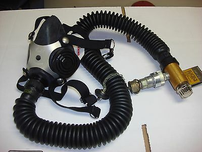 MSA Comfo Respirator Constant Flow Airline Respirator Assembly Med - Model 7-476
