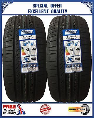 2*205 55R 16  Infinity 2New Tyres Amazing Ratings,2055516 Budget Tyres Infinity