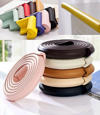 Table 2m Edge & 4pcs Corne​r Cushion Guard Protector Softener Bumper Baby Safety