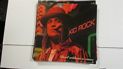 """KID ROCK Devil Without A Cause 12x12"""" CD / Record Store Promo Poster"""
