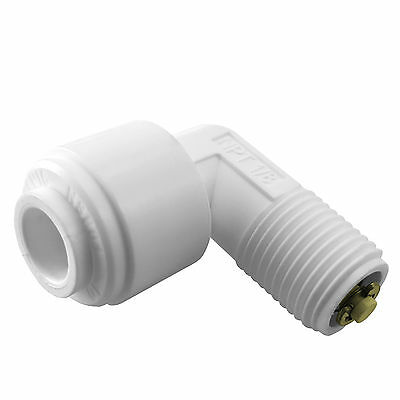 "Male Elbow Check Valve 1/4"" x 1/8"" Fitting Connection Water Filters / RO Systems"