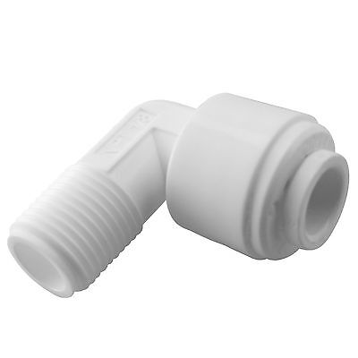 "Express Water 1/8"" Male Elbow Quick Connect Parts for Water Filters / RO Systems"