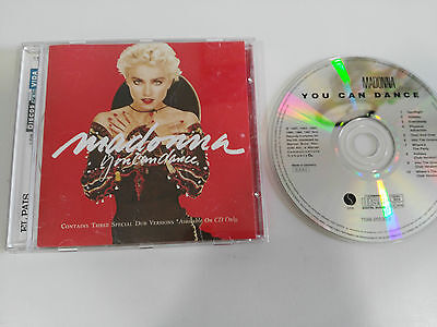 Madonna You Can Dance Cd + 3 Special Dub Versions Only On Cd German Edition