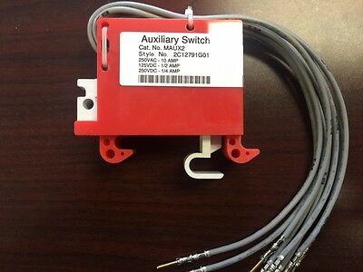 MAUX2 Auxilliary Switch 2C12791G01 (NEW)