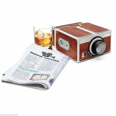 Cardboard Smartphone Projector 2.0 FOR Mobile CELL Phone Portable Movie IPHONE