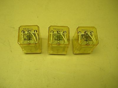 Idec Relay RR3B-UL AC 120V , lot of 3
