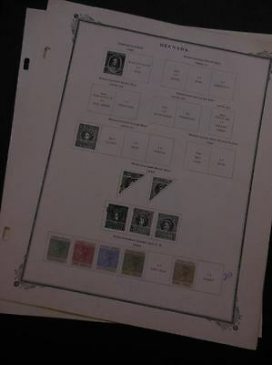 GRENADA : Very nice quality Mint OGH collection on album pages. SG Catalog £512.