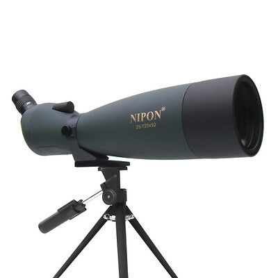 25-125x92 powerful zoom spotting scope. Wildlife/nature observation & stargazing