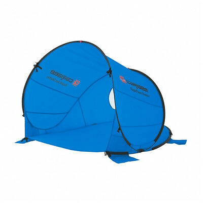 NEW Caribee Rapid Sun Shelter Pop Up for 2/3 People, UPF 50+, in Blue