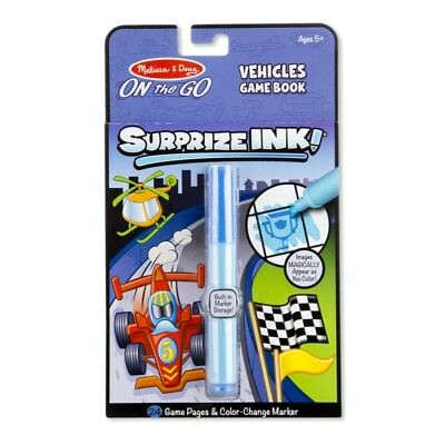 Melissa and Doug On The Go - Surprise Ink! - Vehicles