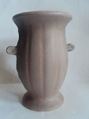 "Vintage Original Nelson McCoy Vase with Loop Handles. 10"" Tall. HTF!"