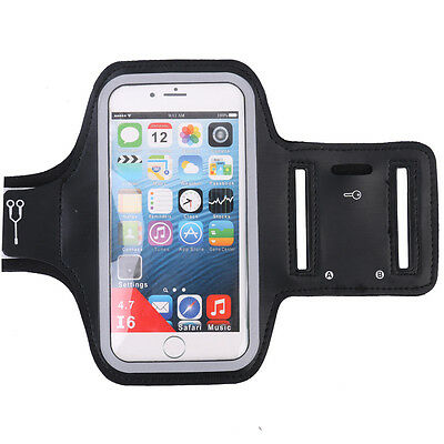 New Sports Running Jogging Gym Arm Band Wrist Pouch Holder Bag For Smart Phones