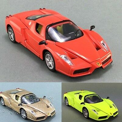 Diecast Ferrari Enzo Vehicles 1:32 Scale Sound & Light Model Racing Car Toys