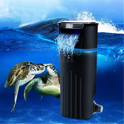 Water Fresh Internal Hang Fish Turtle Tank Aquarium Filter Pump Silence Running