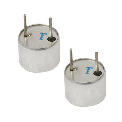 2 x Ultrasonic Sensor Transmitter 16 mm Diameter BT
