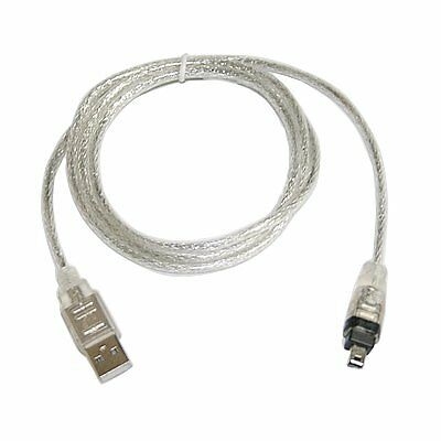 USB 2.0 to IEEE 1394 Firewire 4 Pin 4 ft Extension Cable for Camera or camcorder