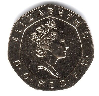 1992 20P COIN RARE * UNCIRCULATED * COLLECTABLE NEW SMALL STYLE TWENTY PENCE (a)
