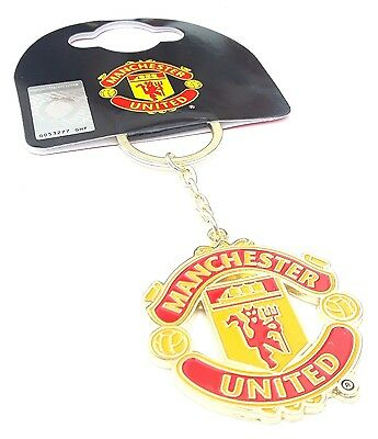 Official Manchester United F.C. Keyring Football Club Keyring