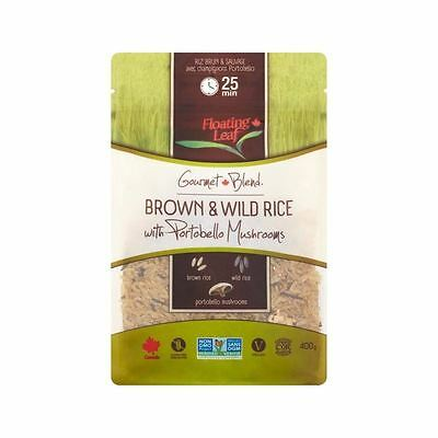 Floating Leaf Brown & Wild Rice with Portobello Mushrooms 400g