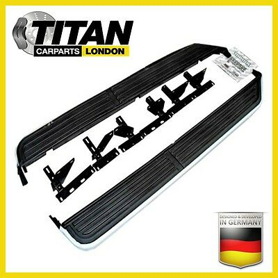 Running Boards Side Steps Side Skirt Easy Fit Land Rover Discovery 3 & 4 New