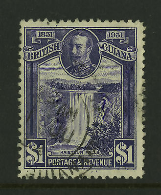 British Guiana  1931  Scott #  209  USED