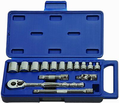"Williams 50663  15 Piece 3/8"" Drive Socket and Drive Tool Set"