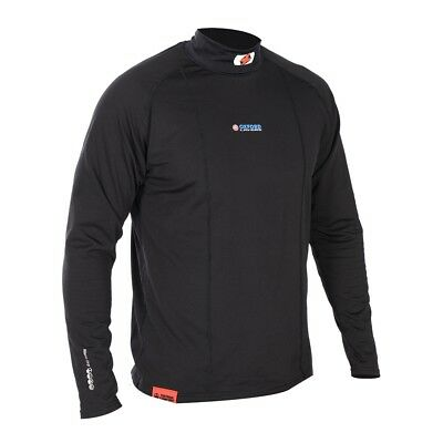 Oxford Layers Warm Dry Long Sleeve High Neck Top Motorcycle Cycling Base Layer