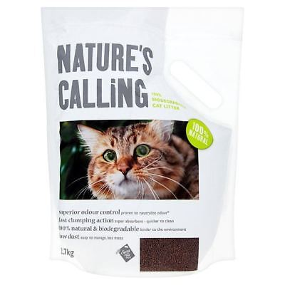 Nature's Calling 100% Biodegradable Cat Litter 2.7kg