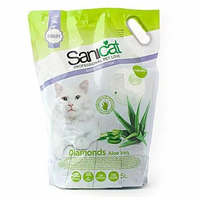 Sanicat Diamonds Aloe Vera Cat Litter 5L