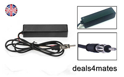 Universal Electronic Radio Hidden Antenna AM FM Stereo 12V For Car Vehicle SUV