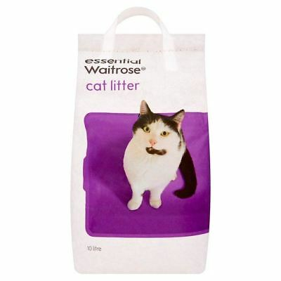 Cat Litter essential Waitrose 10kg