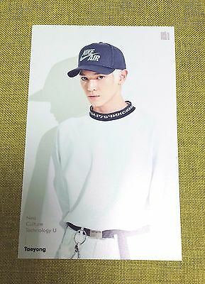 TAEYONG NCT U 4x6 inch SM Official Photo NCT NCT127 SM ROOKIES Original New