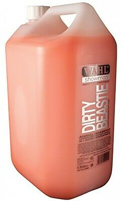 Wahl Showman Dirty Beastie Shampoo 5 Litre NEW