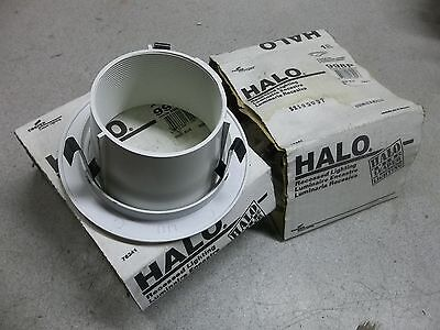"NEW Halo 998P Lot of 2 White 4"" Recessed Light Trim *FREE SHIPPING*"