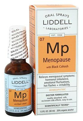 Liddell Laboratories - Menopause with Black Cohosh Homeopathic Oral Spray - 1