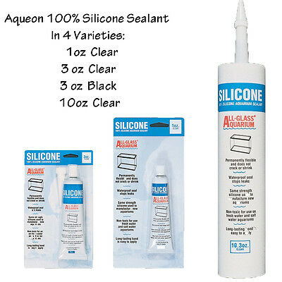 Aqueon 100% Silicone Aquarium Sealant Direct from Manufacturer Free shipping