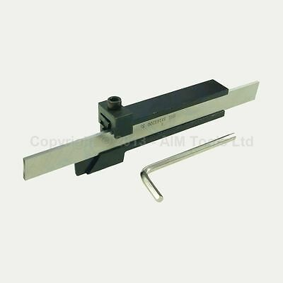 111105 Lathe Parting Cutting Milling Tool Holder With 5 Blades 200MM Variation